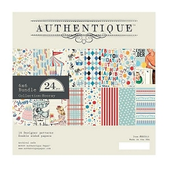 Authentique - Hooray Collection - 6x6 Paper Pad