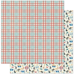 Authentique - Hooray Collection - Five, Circus/Plaid - 12