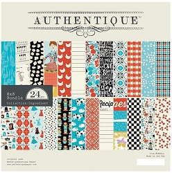 Authentique - Ingredient Collection - 8x8 Paper Pad