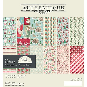 Authentique - Jingle Collection - 6x6 Paper Pad