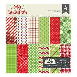 Authentique - Jolly Christmas Collection - 12x12 paper pad