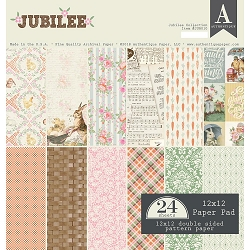 Authentique - Jubilee Collection - 12x12 paper pad