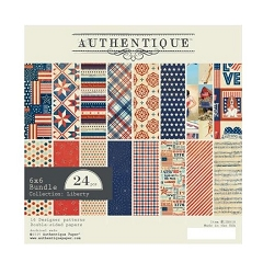 Authentique - Liberty Collection - 6x6 Paper Pad