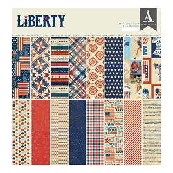 Authentique - Liberty Collection - 12x12 paper pad