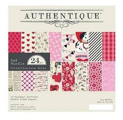 Authentique - Love Notes Collection - 6x6Paper Pad