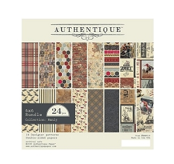 Authentique - Manly Collection - 6x6Paper Pad