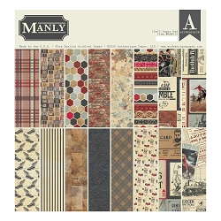 Authentique - Manly Collection - 12x12 paper pad
