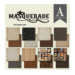 Authentique - Masquerade Collection - 6x6 Paper Pad