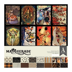 Authentique - Masquerade Collection - Collection Kit
