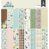 Authentique - Meadow Collection - 12x12 paper pad