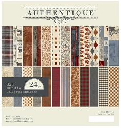 Authentique - Mister Collection - 8x8 Paper Pad