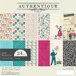 Authentique - Party Collection - 6x6 Paper Pad