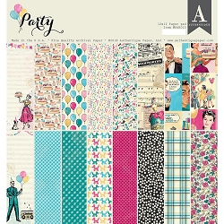 Authentique - Party Collection - 12x12 paper pad