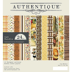 Authentique - Pleasant Collection - 6x6 Paper Pad