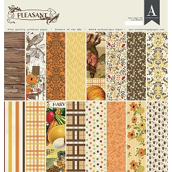Authentique - Pleasant Collection - 12x12 paper pad