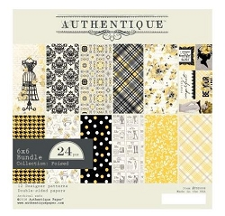 Authentique - Poised Collection - 6x6 Paper Pad