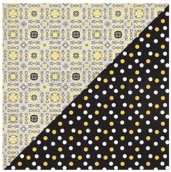 Authentique - Poised Collection - Three, Ceiling Tiles/Polka Dot - 12