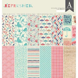 Authentique - Refreshed Collection - 12x12 paper pad