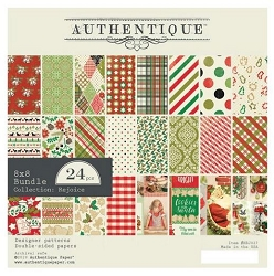 Authentique - Rejoice Collection - 8x8 Paper Pad
