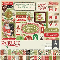 Authentique - Rejoice Collection - Essensials Collection Kit