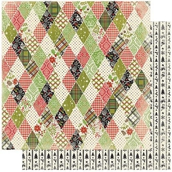 Authentique - Rejoice Collection - Five, Diamonds/Icons strips - 12