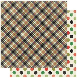 Authentique - Rejoice Collection - Eleven, Tartan/big dots - 12