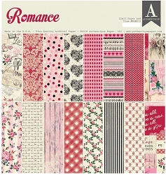 Authentique - Romance Collection - 12x12 paper pad