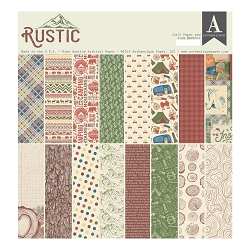 Authentique - Rustic Collection - 12x12 paper pad