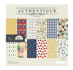 Authentique - Scholastic Collection - 8x8 Paper Pad