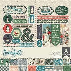 Authentique - Snowfall Collection - Collection Kit