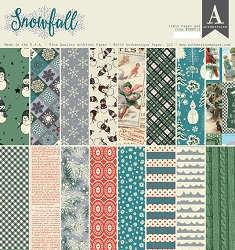 Authentique - Snowfall Collection - 12x12 paper pad