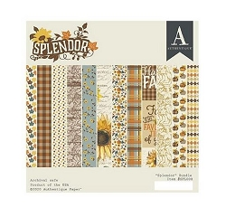 Authentique - Splendor Collection - 6x6 Paper Pad