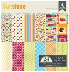 Authentique - Sunshine Collection - 12x12 paper pad