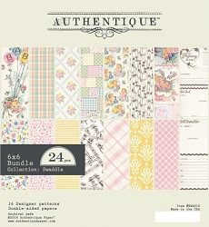 Authentique - Swaddle Girl Collection - 6x6 Paper Pad