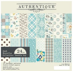 Authentique - Swaddle Boy Collection - 6x6 Paper Pad