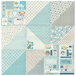 Authentique - Swaddle Boy Collection - Collection Kit