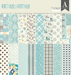 Authentique - Swaddle Boy Collection - 12x12 paper pad