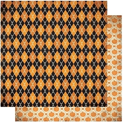 Authentique - Twilight Collection - One, harlequin/pumpkins - 12