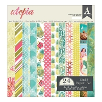 Authentique - Utopia Collection - 12x12 paper pad
