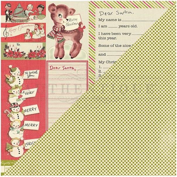 Authentique-JOLLY COLLECTION-CHRISTMAS-Papier cartonné Autocollants-Die-Cut