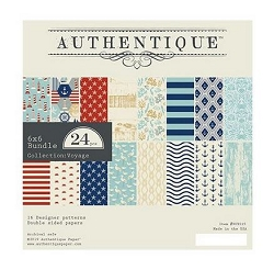 Authentique - Voyage Collection - 6x6 Paper Pad