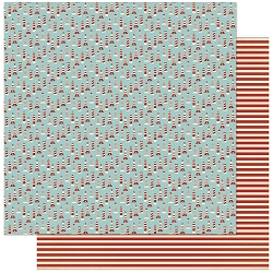 Authentique - Voyage Collection - One, Lighthouses/Red Stripes - 12