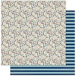 Authentique - Voyage Collection - Six, Paddles/Blue Stripes - 12