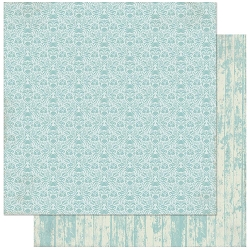 Authentique - Voyage Collection - Seven, Blue Crab Damask/Blue Wood - 12