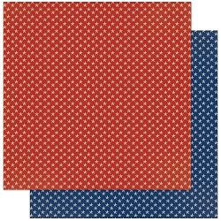 Authentique - Voyage Collection - Ten, Blue stars/Red Stars - 12