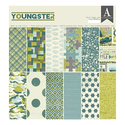 Authentique - Youngster Collection - 12x12 paper pad