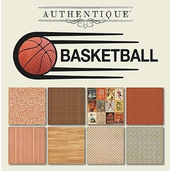 Authentique - All Star Basketball 6x6 Paper Pad