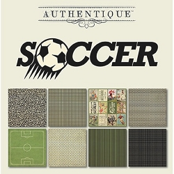Authentique - All Star Soccer 6x6 Paper Pad