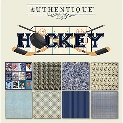 Authentique - All Star Hockey 6x6 Paper Pad