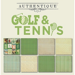 Authentique - All Star Golf & Tennis 6x6 Paper Pad